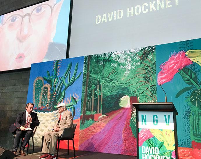 David Hockney (Source: My Poppet)