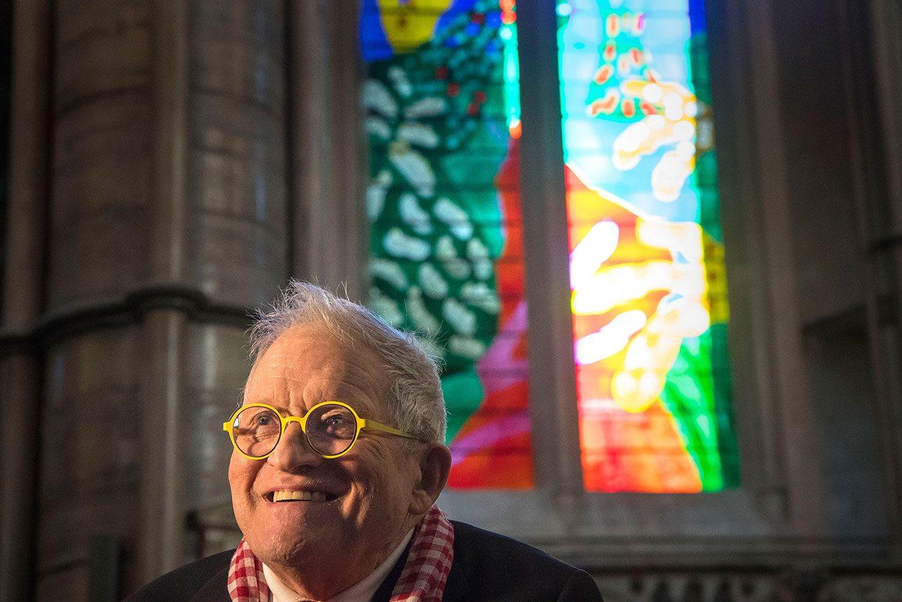 David Hockney Queen's Window(Source:The Standard)