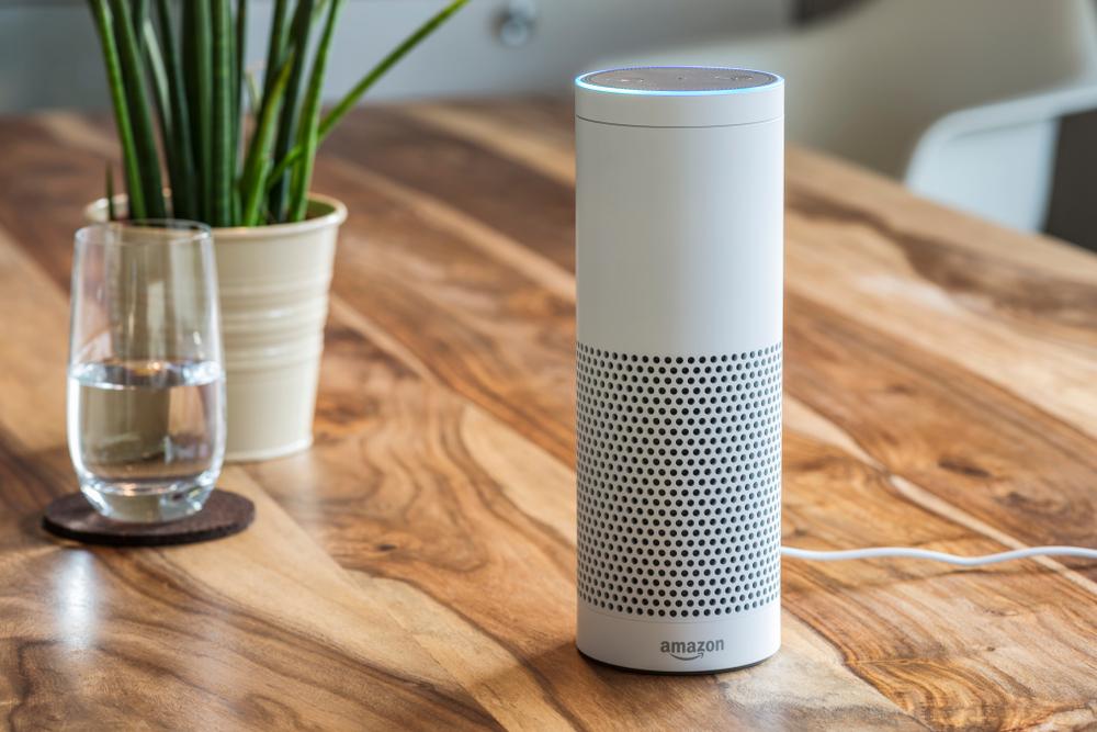 Amazon Echo Dot (Source: Shutterstock)