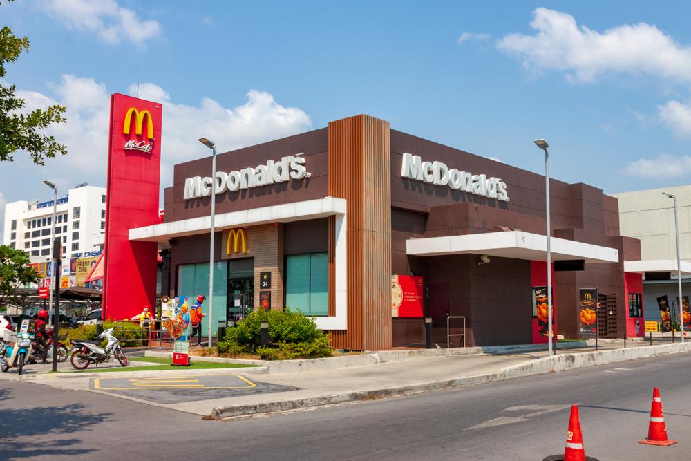 McDonalds Colour Scheme
