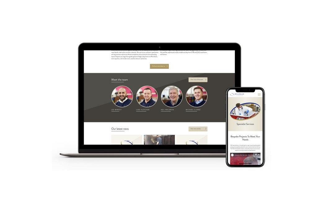 Millenium Site Services have an Incredible New Site