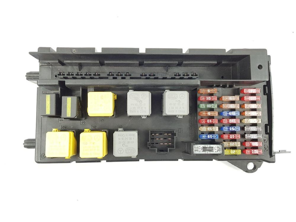 medium resolution of 2013 on 906 mercedes sprinter fuse relay box unit a9065454701 2 1 diesel
