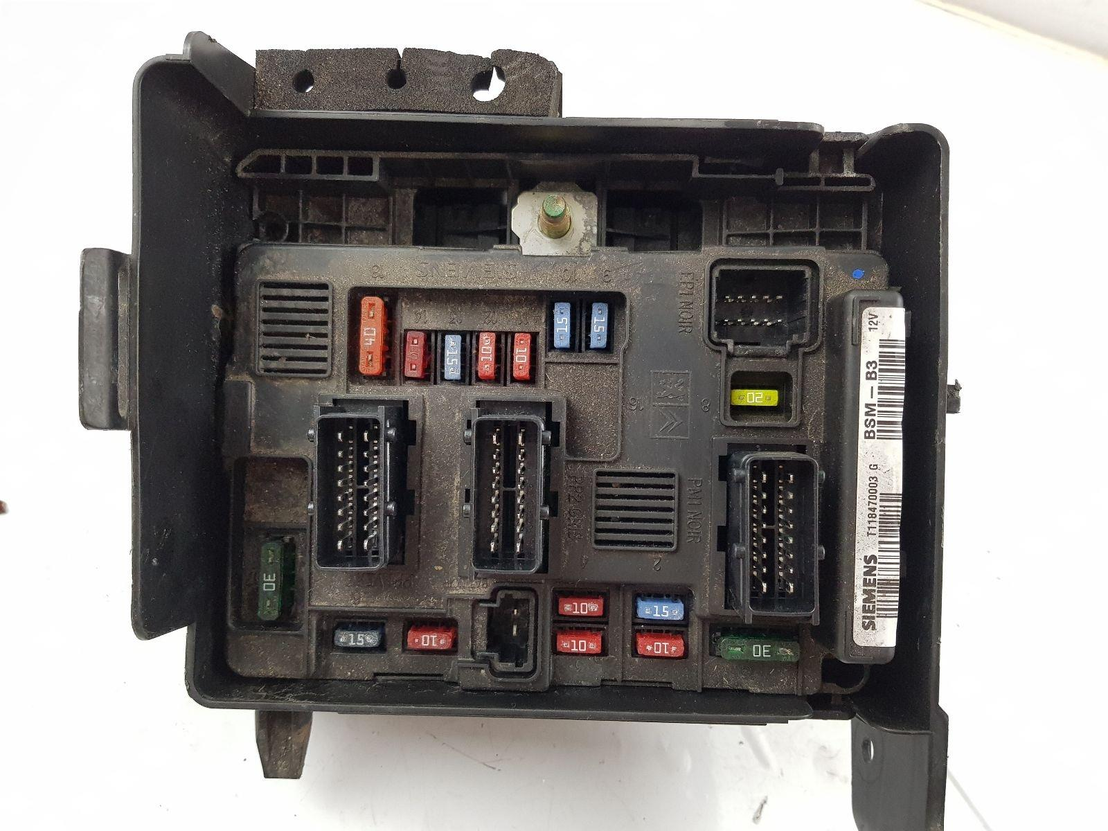 hight resolution of 2003 2008 mk1 citroen c2 fuse box 1 1 petrol 9638502580