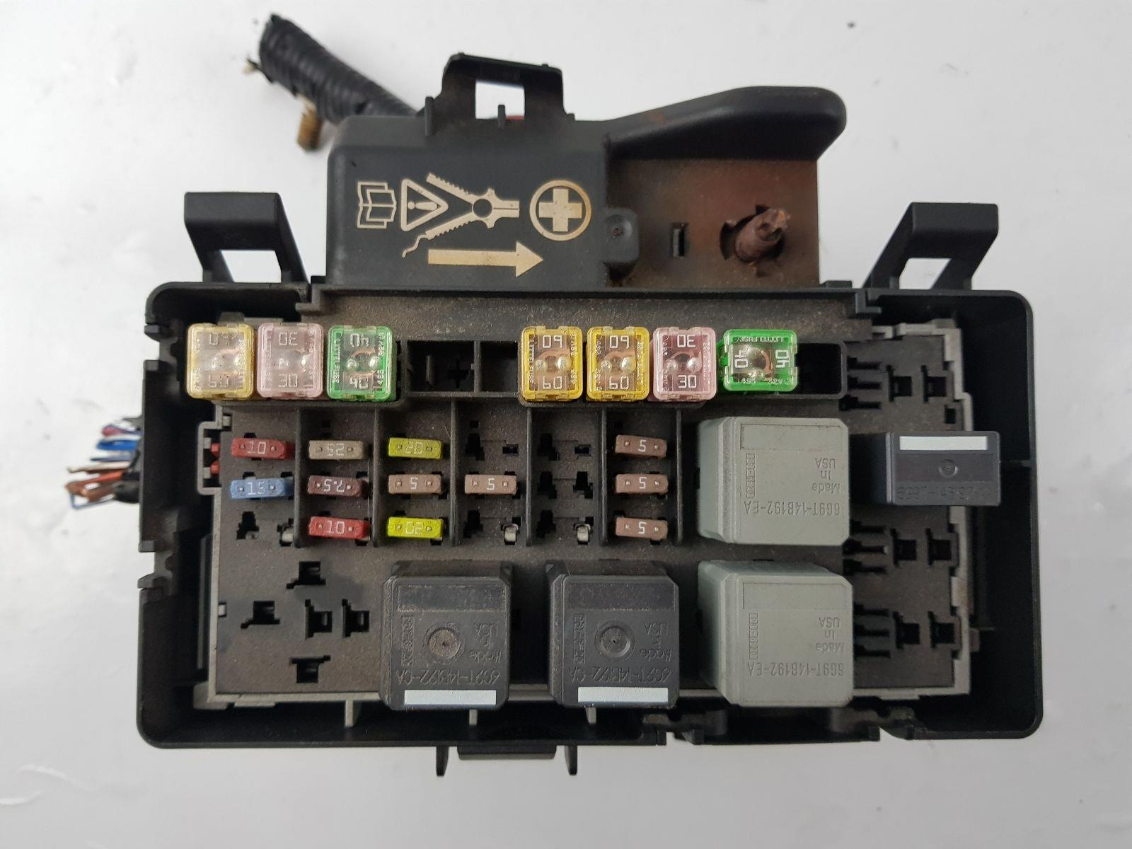 hight resolution of  2006 2014 mk7 ford transit fuse box 6c1t14a067aa 2 2 diesel