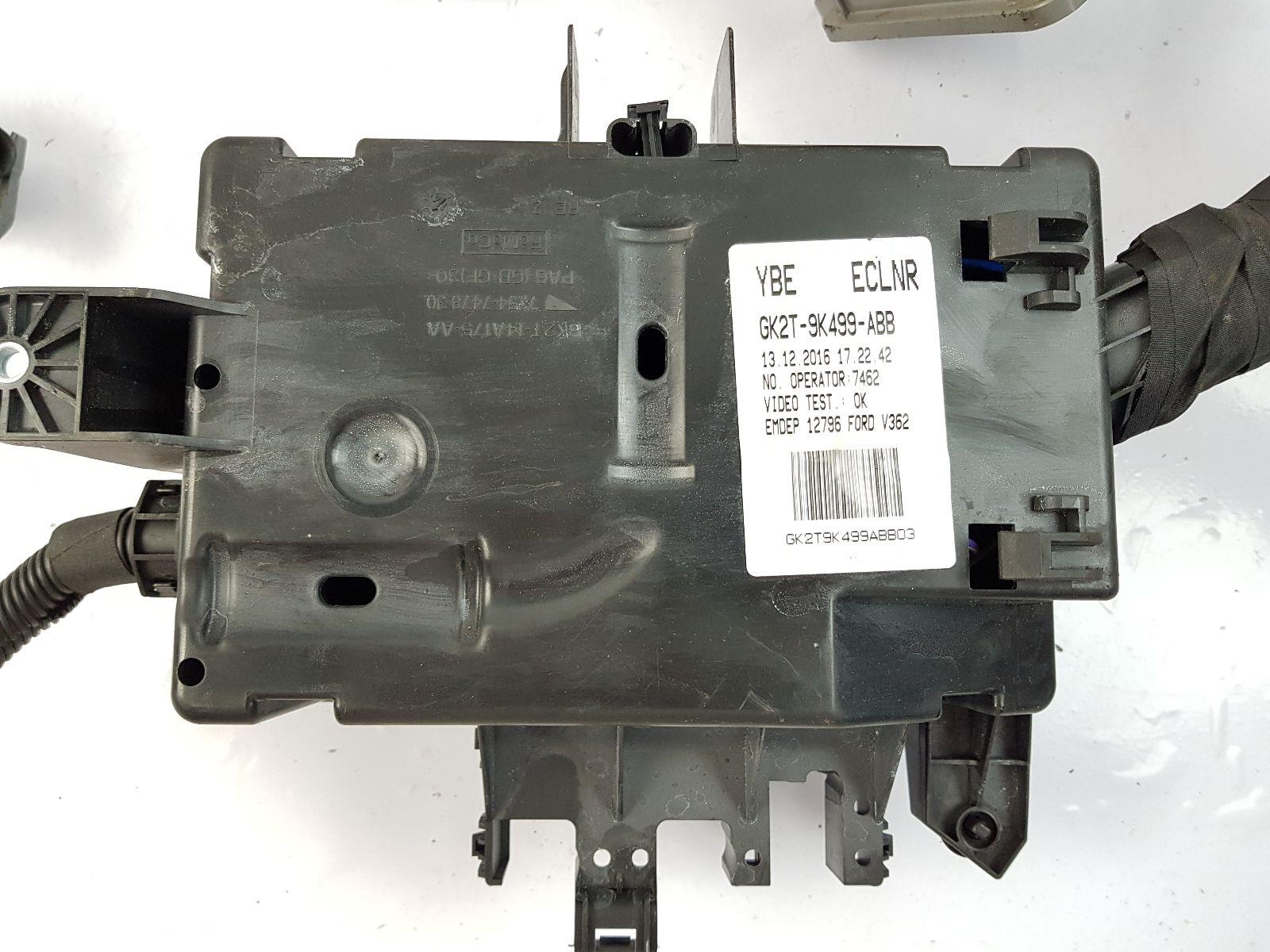 hight resolution of  2012 on mk8 ford transit custom engine bay fuse box gk2t9k499abb