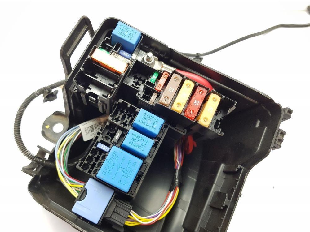 medium resolution of  2013 2016 mk4 renault clio fuse box 0 9 petrol 243804185r