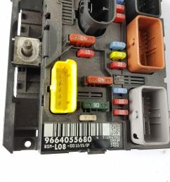 2007 2013 mk1 citroen grand fuse box 9664055680  [ 1600 x 1200 Pixel ]