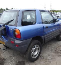 toyota rav4 1994 to 2000 3 door 4x4  [ 1600 x 1200 Pixel ]