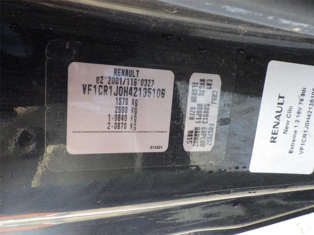 medium resolution of  renault clio 2009 to 2012 fuse box