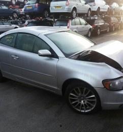 volvo c70 2006 to 2009 se 2 door cabriolet scrap salvage car for sale [ 1600 x 1200 Pixel ]