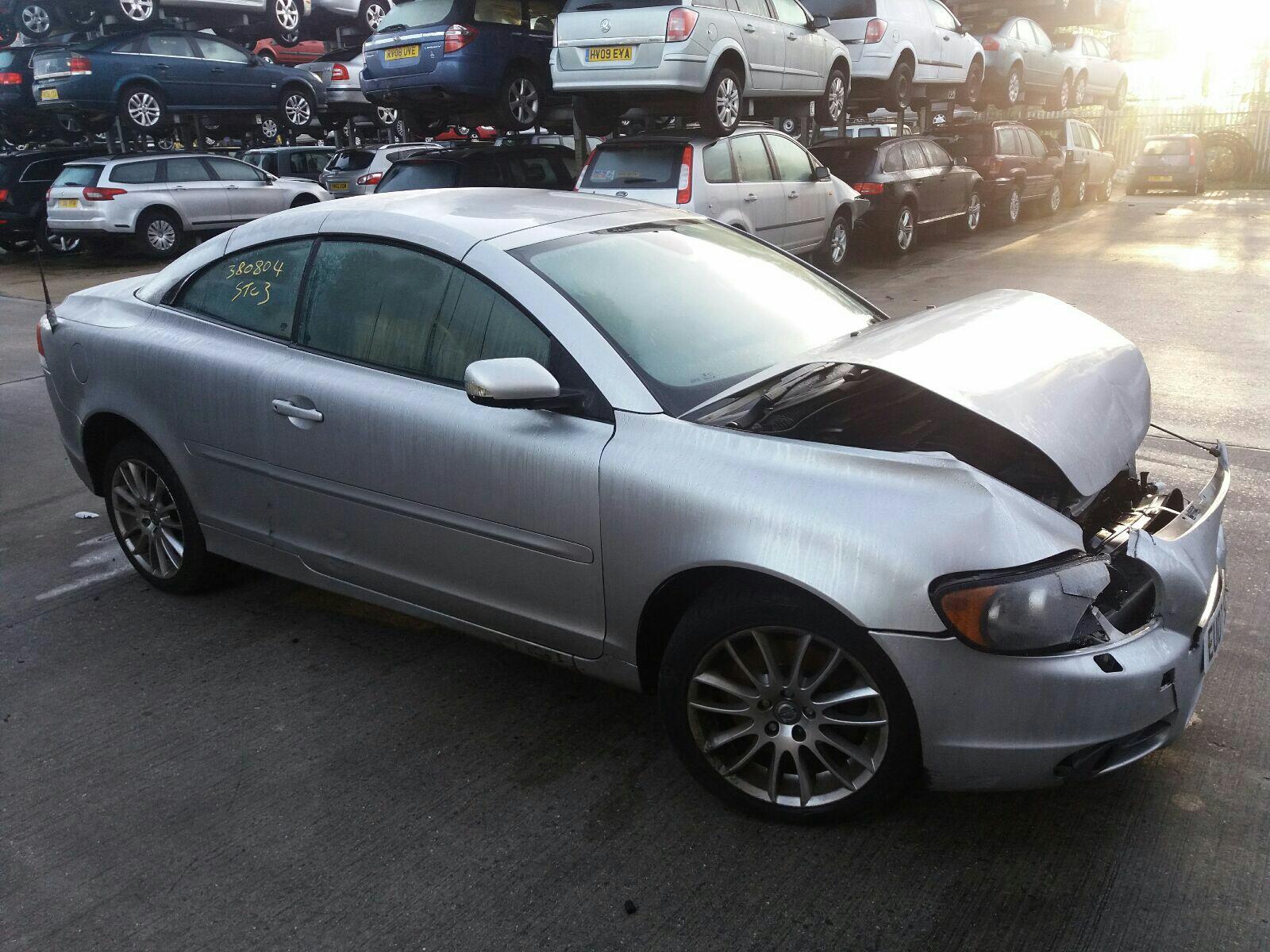 hight resolution of volvo c70 2006 to 2009 se 2 door cabriolet scrap salvage car for sale