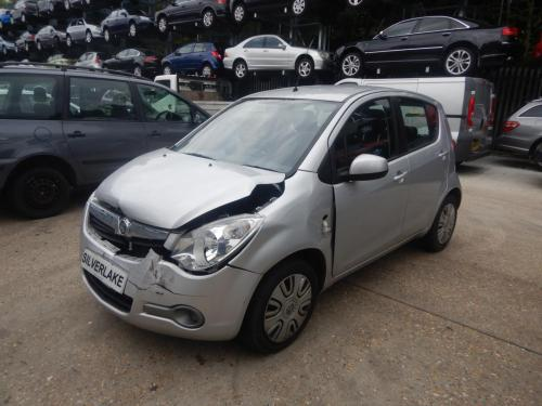 small resolution of vauxhall agila 2008 on s 5 door hatchback scrap salvage car for fuel line location vauxhall agila fuse box location