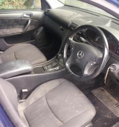 mercedes benz c class 2002 to 2003 c200k avantgarde 5 door estate [ 1600 x 1200 Pixel ]