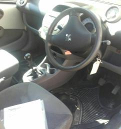 peugeot 107 2005 to 2008 urban 3 door hatchback scrap salvage car for sale [ 1600 x 1200 Pixel ]