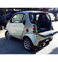 smart fortwo 2001 to 2007 passion 3 door hatchback scrap salvage car for sale [ 1600 x 1200 Pixel ]