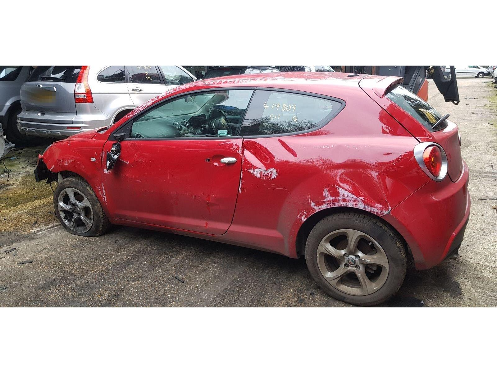 hight resolution of alfa romeo mito 2016 on tb twinair 3 door hatchback scrap salvage car for sale auction silverlake autoparts