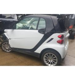 smart fortwo 2007 to 2010 passion 2 door coupe scrap salvage car for sale auction silverlake autoparts [ 1600 x 1200 Pixel ]