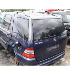 mercedes benz m class 1998 to 2005 ml320 5 door 4x4 scrap salvage car for sale auction silverlake autoparts [ 1600 x 1200 Pixel ]