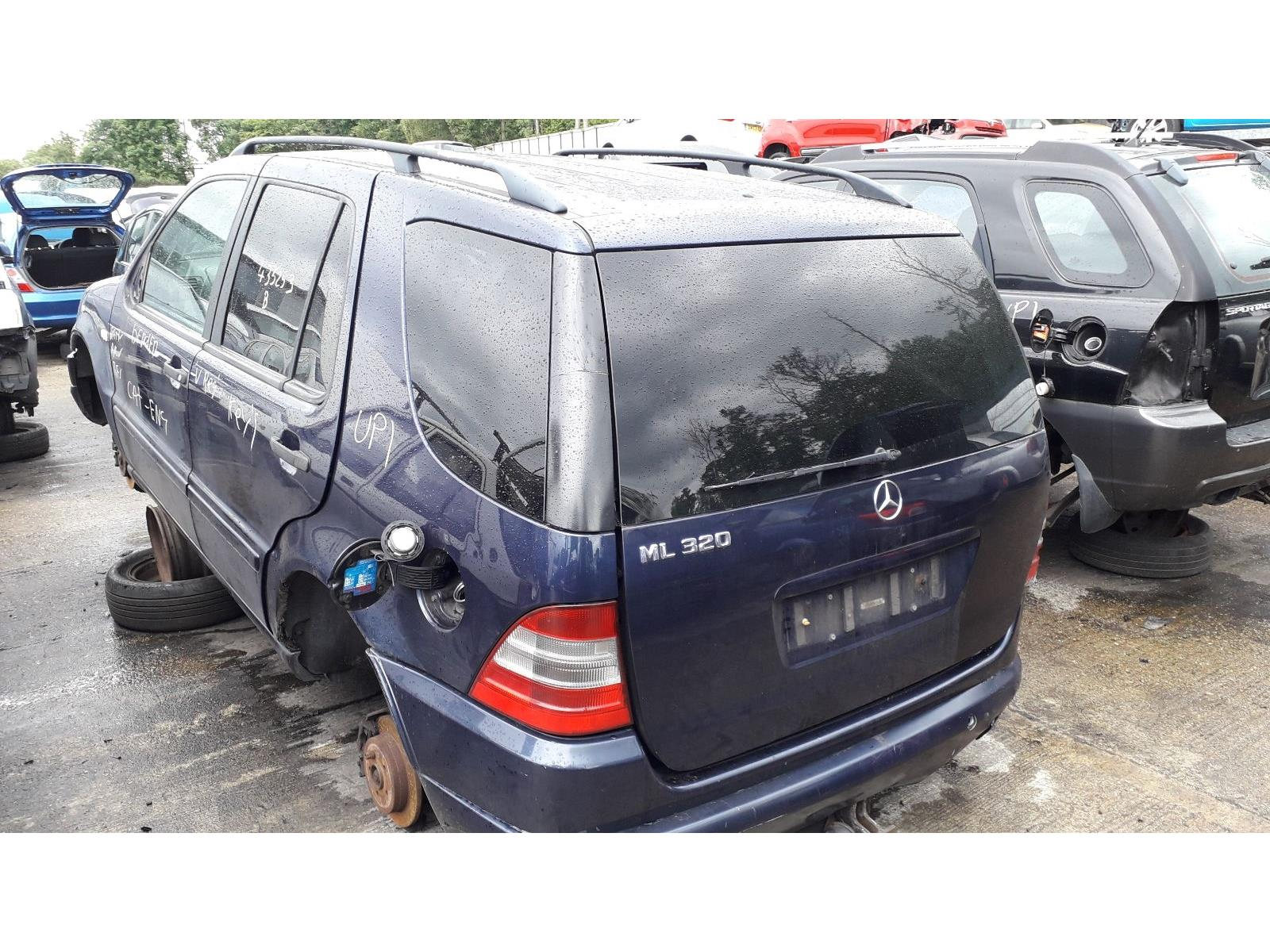 hight resolution of mercedes benz m class 1998 to 2005 ml320 5 door 4x4 scrap salvage car for sale auction silverlake autoparts