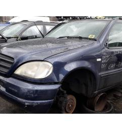 mercedes benz m class 1998 to 2005 ml320 5 door 4x4 [ 1600 x 1200 Pixel ]