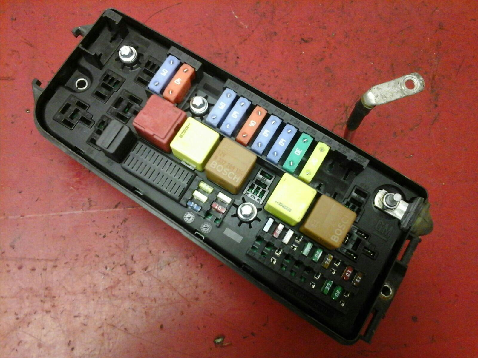 hight resolution of vauxhall vectra c signum uec fusebox underhood electrical center us 2002 2009