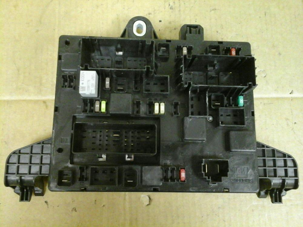 medium resolution of vauxhall astra j mk6 rec rear fuse box 2010 2015 365927271 uj
