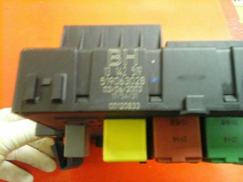 small resolution of signum vauxhall vectra c rear electric control rec fuse box bh 02 09
