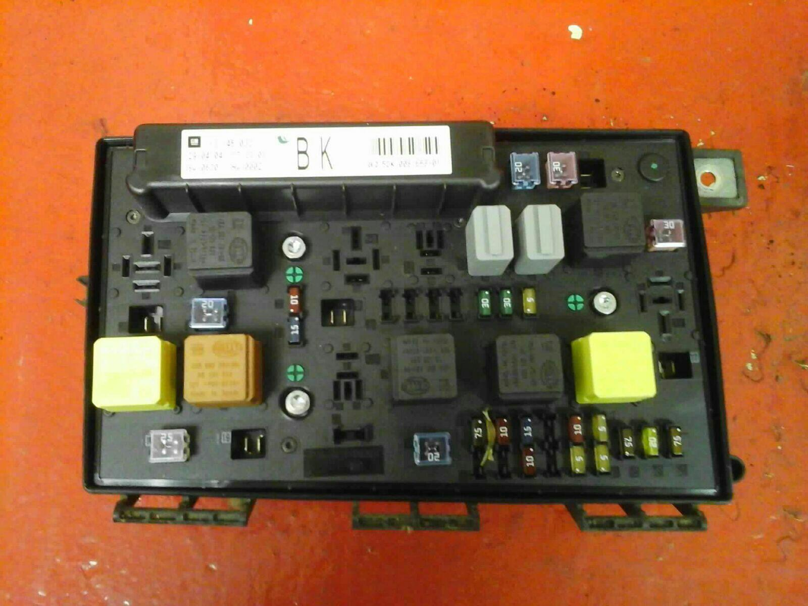 hight resolution of vauxhall astra h mk5 front bcm electric control uec fuse box bk 2004 ford f