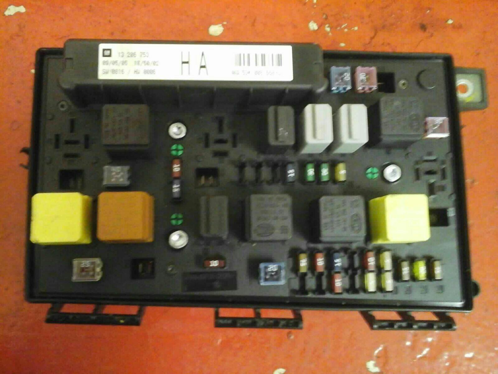 hight resolution of vauxhall astra h mk5 front bcm electric control uec fuse box ha 2004 10