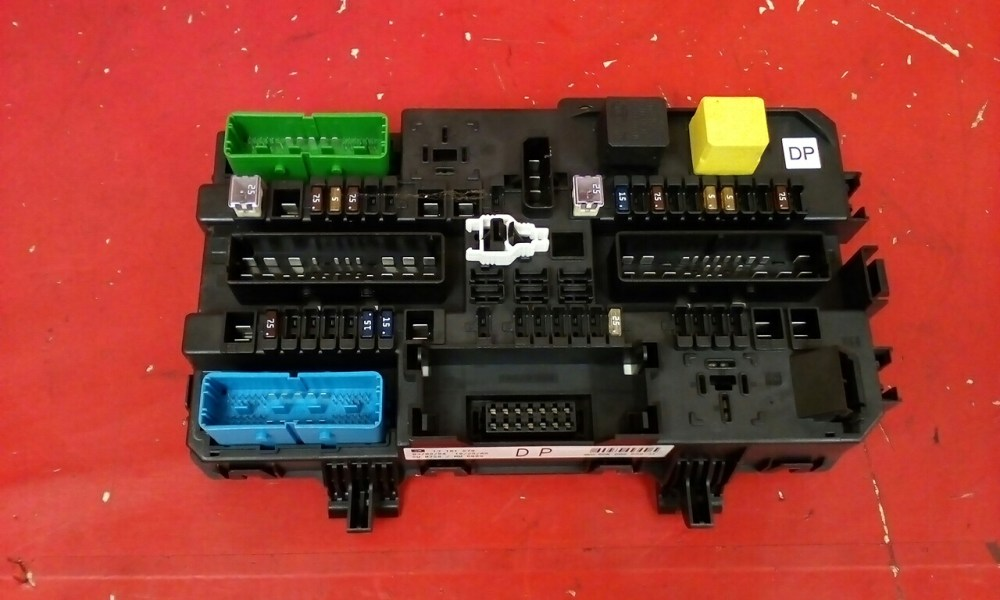 medium resolution of vauxhall astra mk5 h zafira b rear rec fuse box dp 13181278 2004 2010