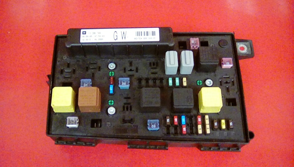 medium resolution of vauxhall astra h mk5 front bcm electric control gw uec fuse box 2004 2010