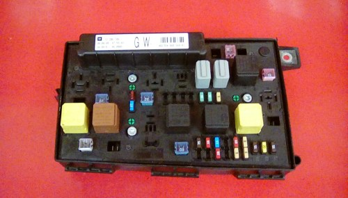 small resolution of vauxhall astra h mk5 front bcm electric control gw uec fuse box 2004 2010