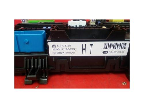 small resolution of vauxhall astra mk5 h zafira b rear electric control rec fuse box ht 04