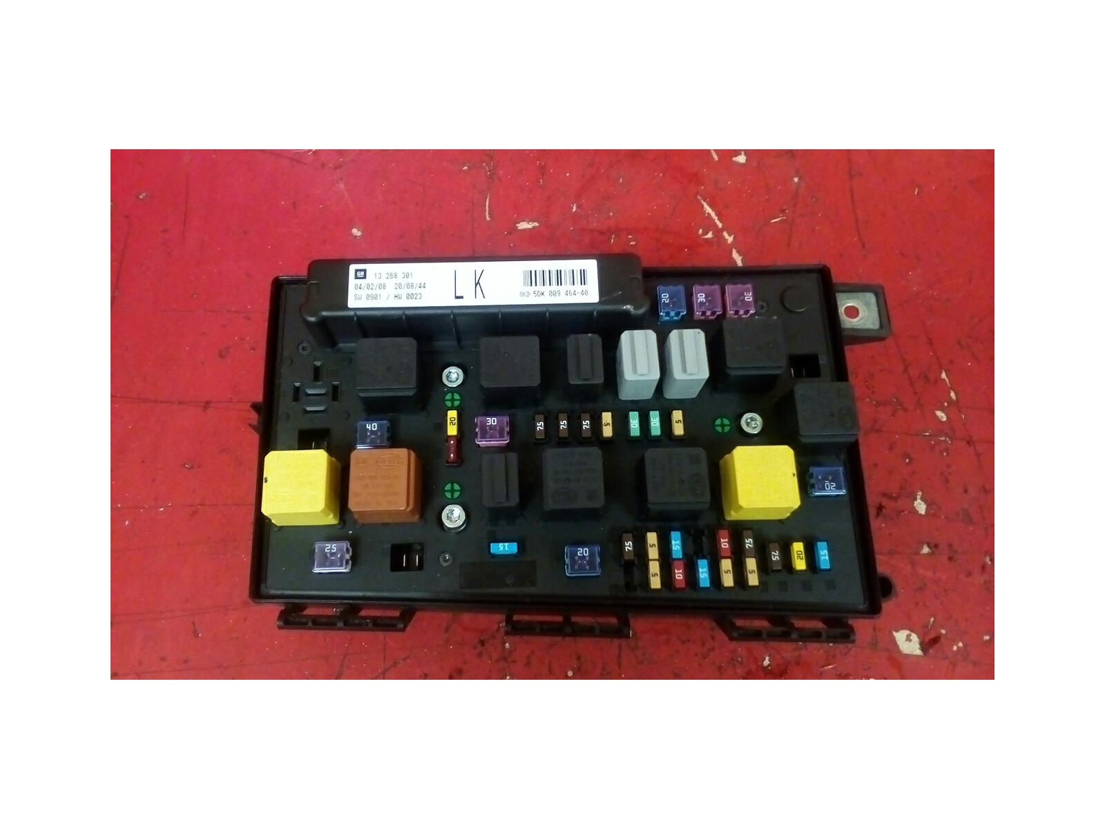 hight resolution of vauxhall astra h mk5 front bcm electric control uec ka fuse box 2004 2010