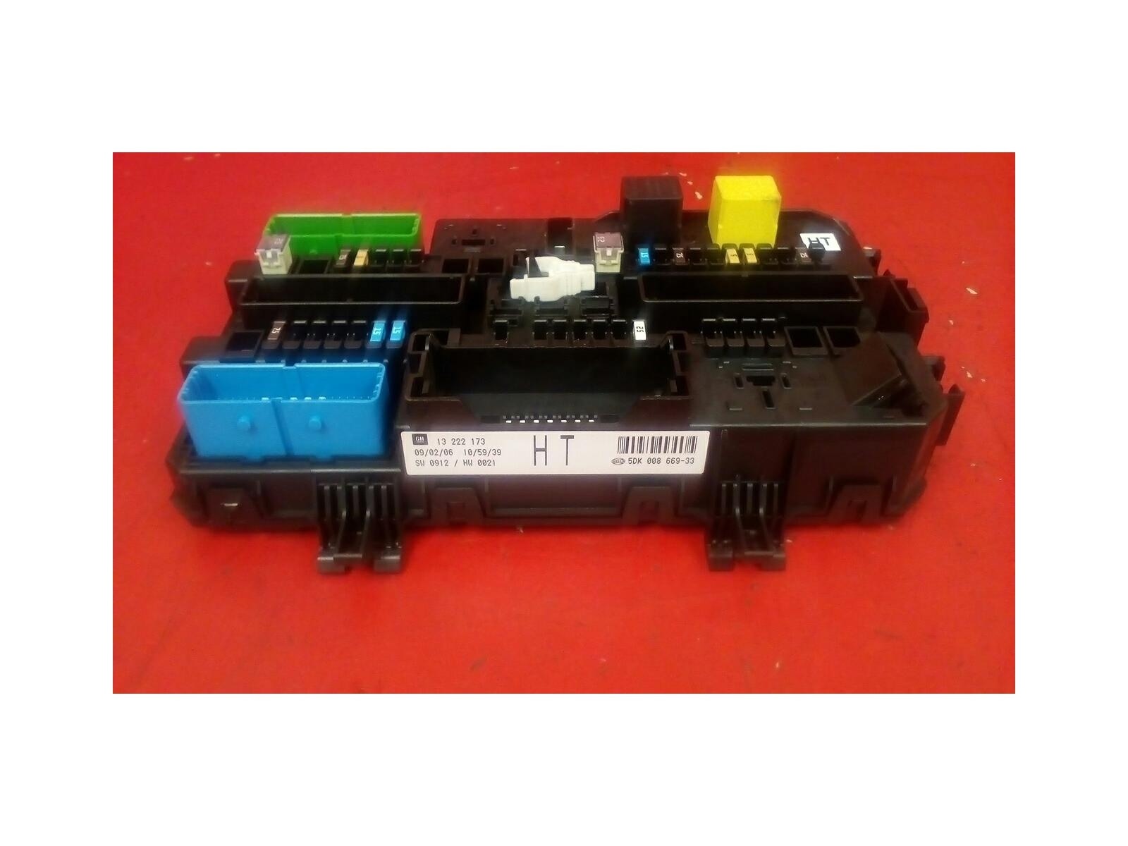 hight resolution of vauxhall astra mk5 h zafira b rear electric control rec ht fuse box 2004 2010