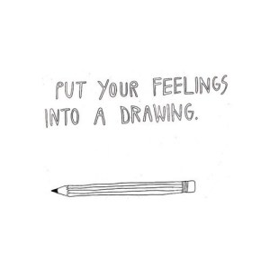 quotes easy drawn drawing quote doodle text drawings draw saying keep put business