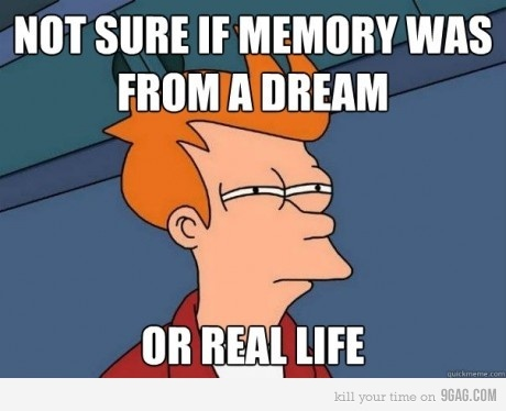 9gag, dream, funny, it happens all the time , life