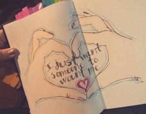 quotes drawings drawn quote heart quotesgram