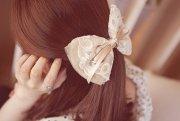 cute fashion girl hair hairclip