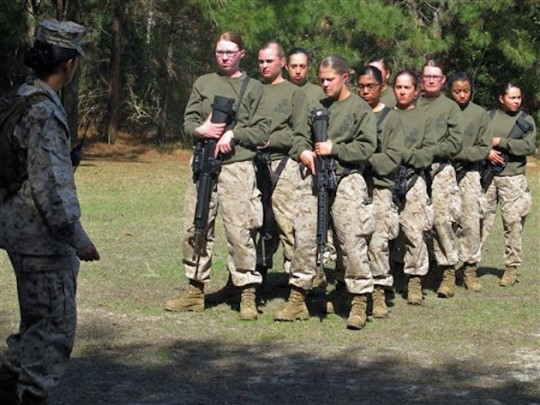 Marines-Female General