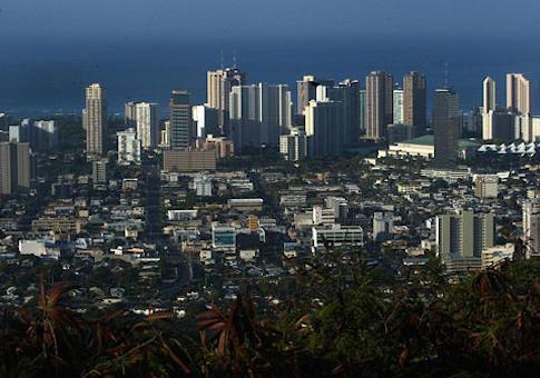 Honolulu skyline / AP