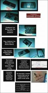 Instructions for making a cellphone detonator