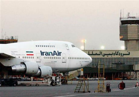 A Boeing 747 of Iran's national airline is seen at Mehrabad International Airport in Tehran / AP