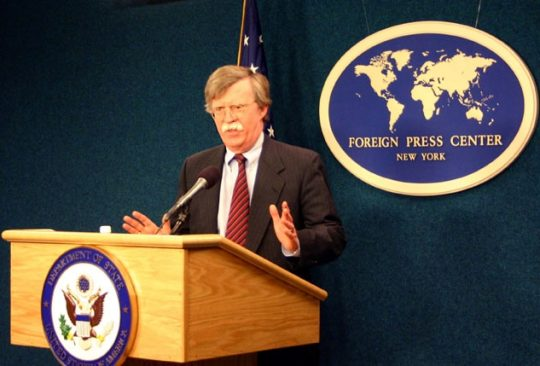 John Bolton in 2006. State Department photo.