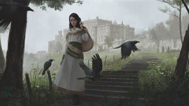 Image result for young liliana magic the gathering