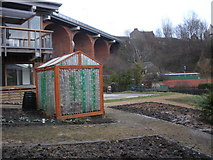 NZ2664 : Greenhouse, Ouseburn Farm (prev known as Byker farm), Ouseburn by hayley green