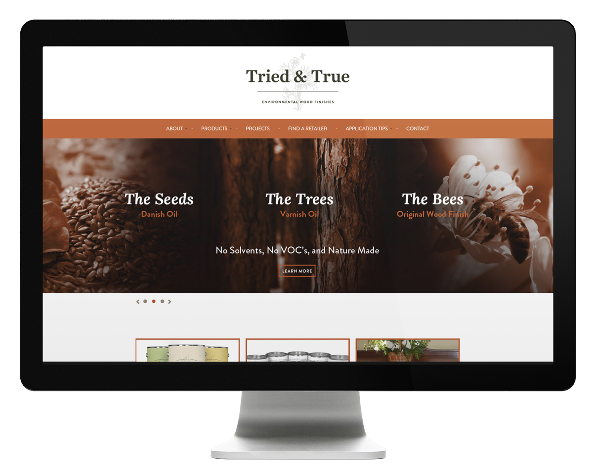 Tried Amp True Wood Finish Rebranding