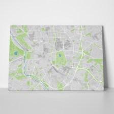 Πίνακας CITY MAP MADRID