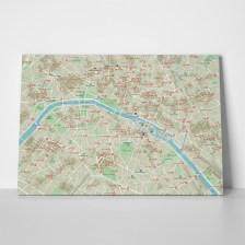 Πίνακας CITY MAP PARIS