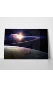 Πίνακας AWESOME SUNRISE IN SPACE